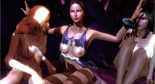 God of War III Aphrodite Sex Mini Game