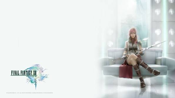 Final Fantasy XIII - Lighting and Logo